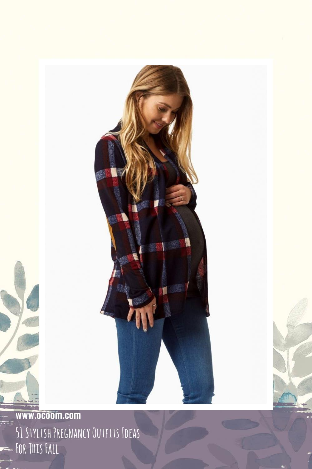 51 Stylish Pregnancy Outfits Ideas For This Fall 44