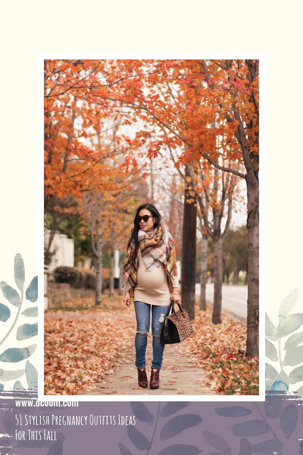 51 Stylish Pregnancy Outfits Ideas For This Fall 7
