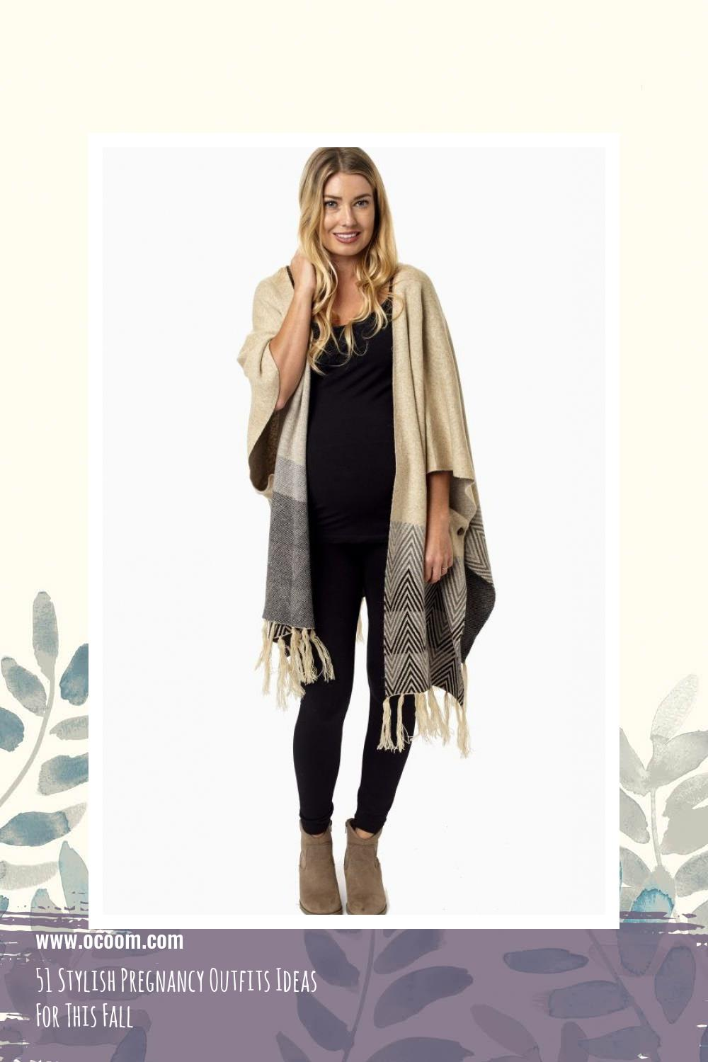 51 Stylish Pregnancy Outfits Ideas For This Fall 9