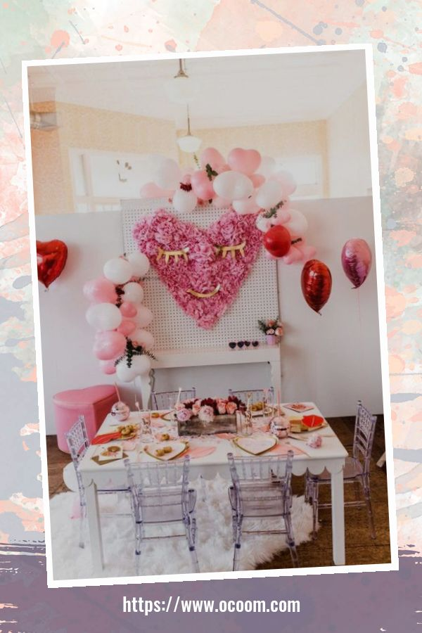 55 Lovely Backdrop For Valentines Day Photo Booth 15