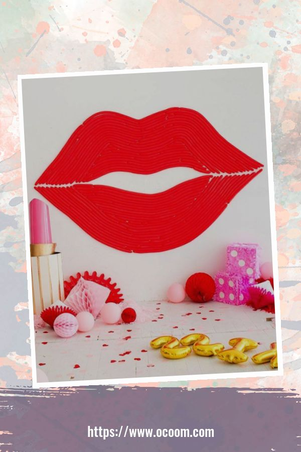 55 Lovely Backdrop For Valentines Day Photo Booth 44