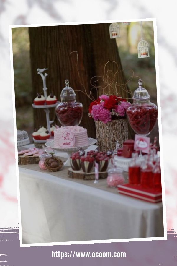 56 Romantic Valentines Day Wedding Inspiration Ideas 52