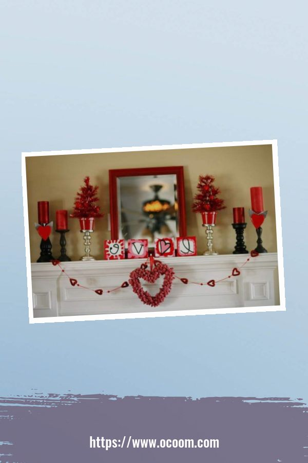 60 Romantic Home Decoration Ideas For Your Valentines Day 49