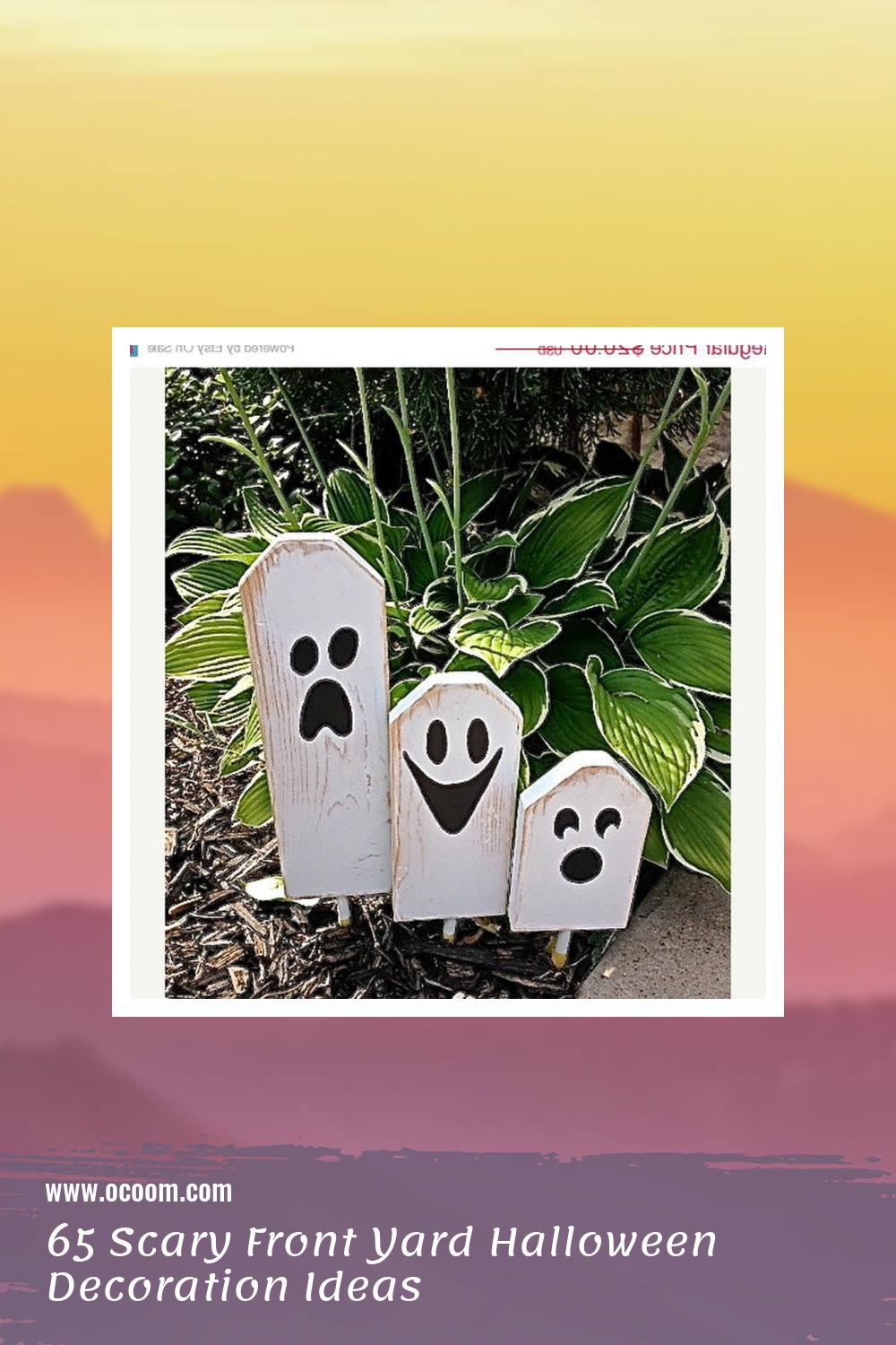 65 Scary Front Yard Halloween Decoration Ideas 12