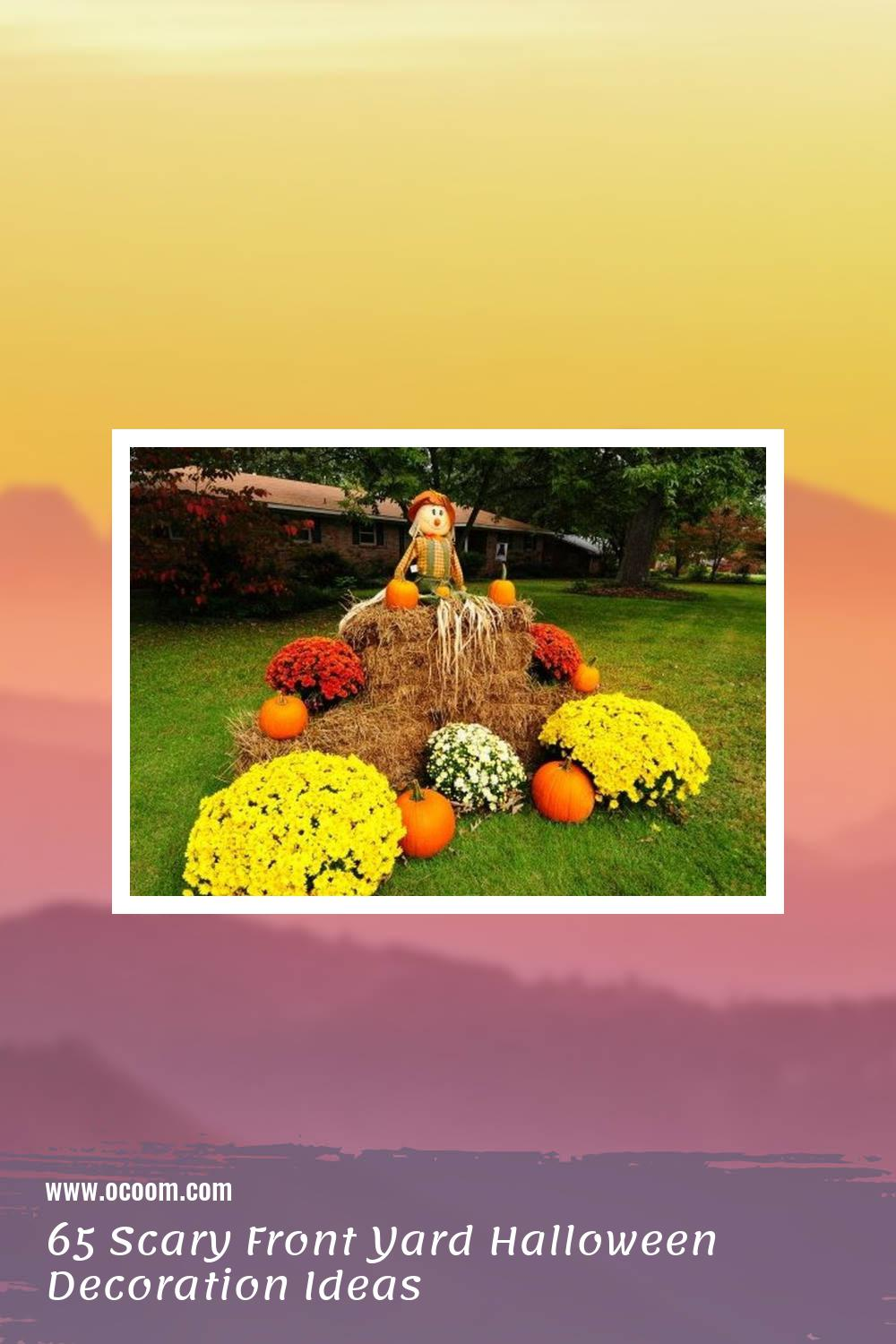 65 Scary Front Yard Halloween Decoration Ideas 2