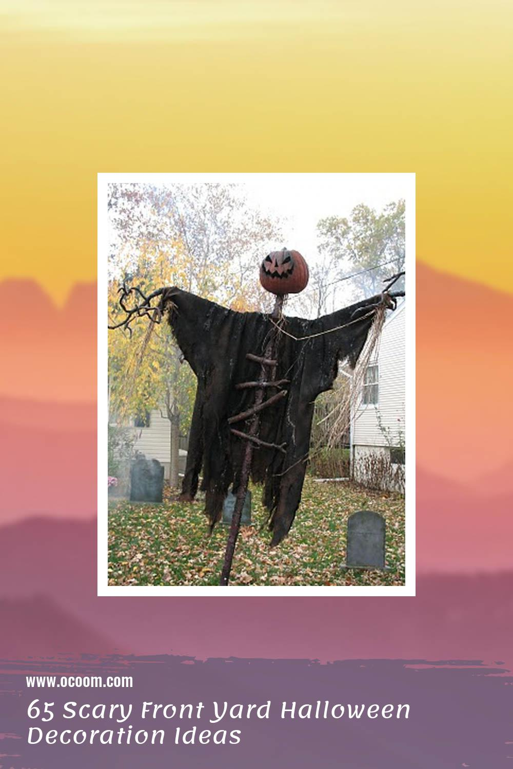 65 Scary Front Yard Halloween Decoration Ideas 39