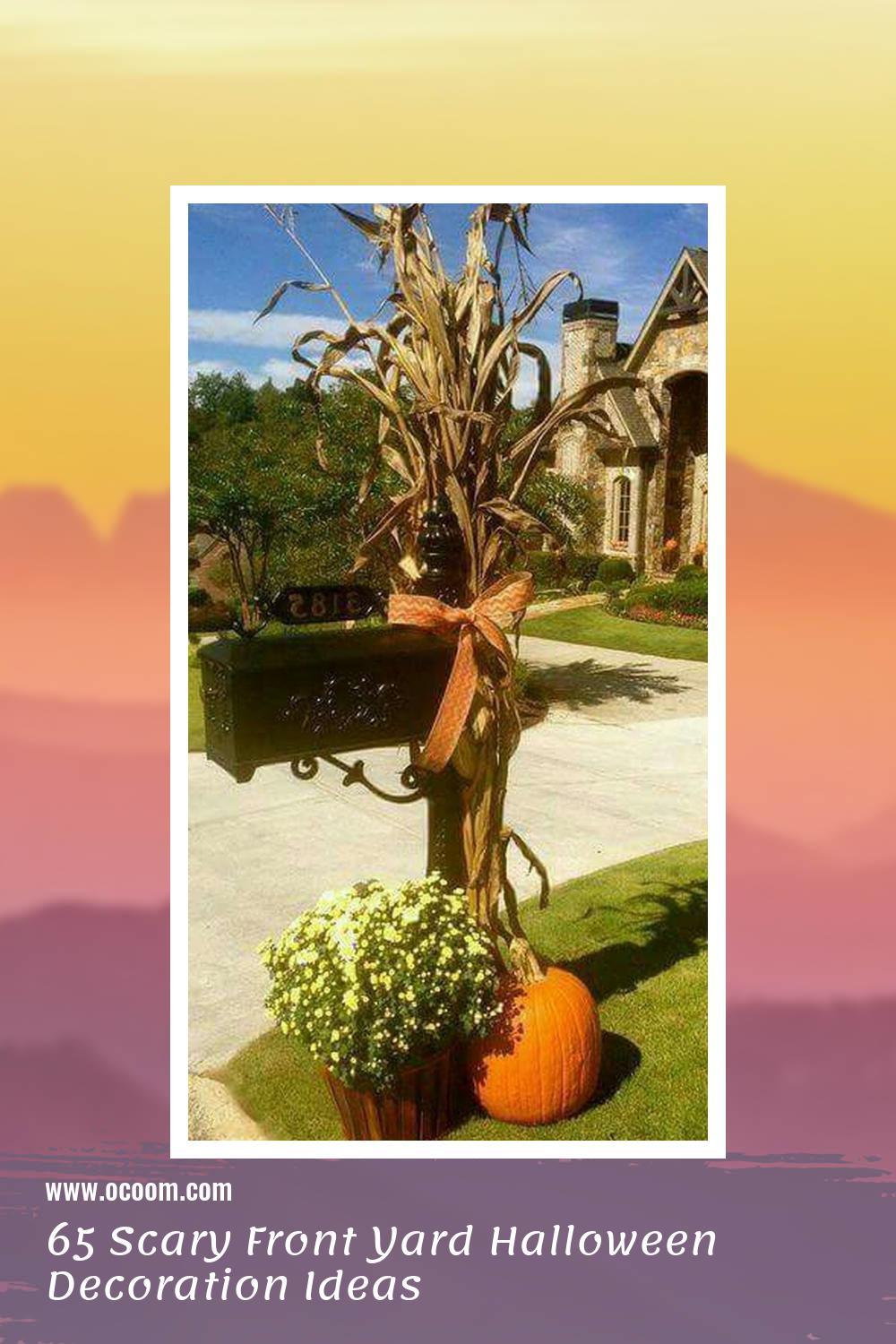 65 Scary Front Yard Halloween Decoration Ideas 4