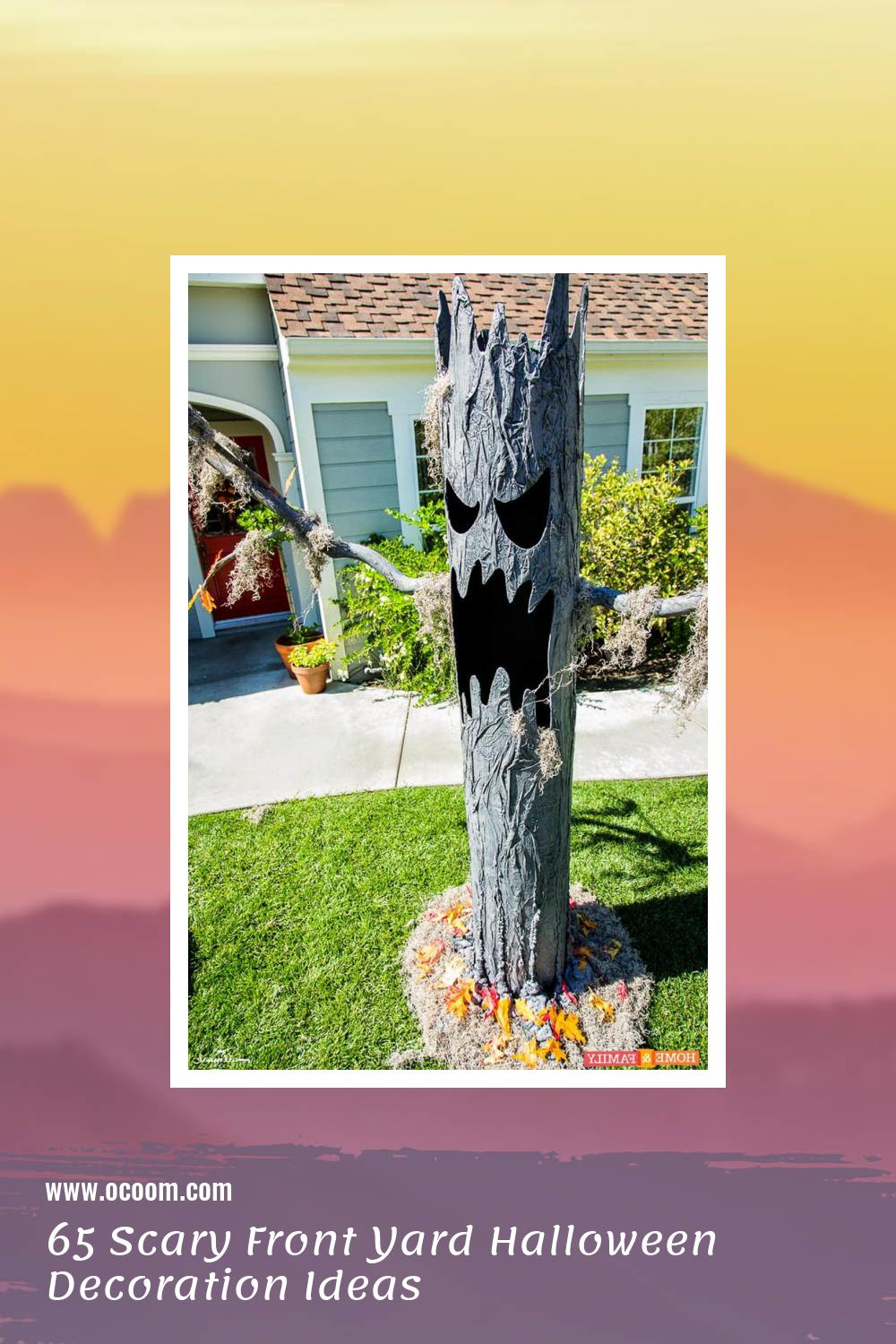 65 Scary Front Yard Halloween Decoration Ideas 63