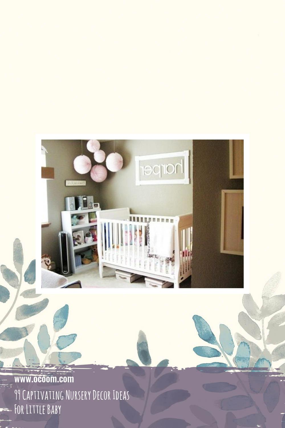99 Captivating Nursery Decor Ideas For Little Baby 15