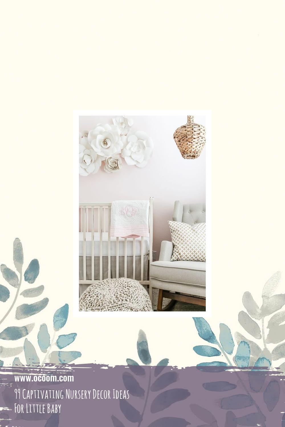 99 Captivating Nursery Decor Ideas For Little Baby 30