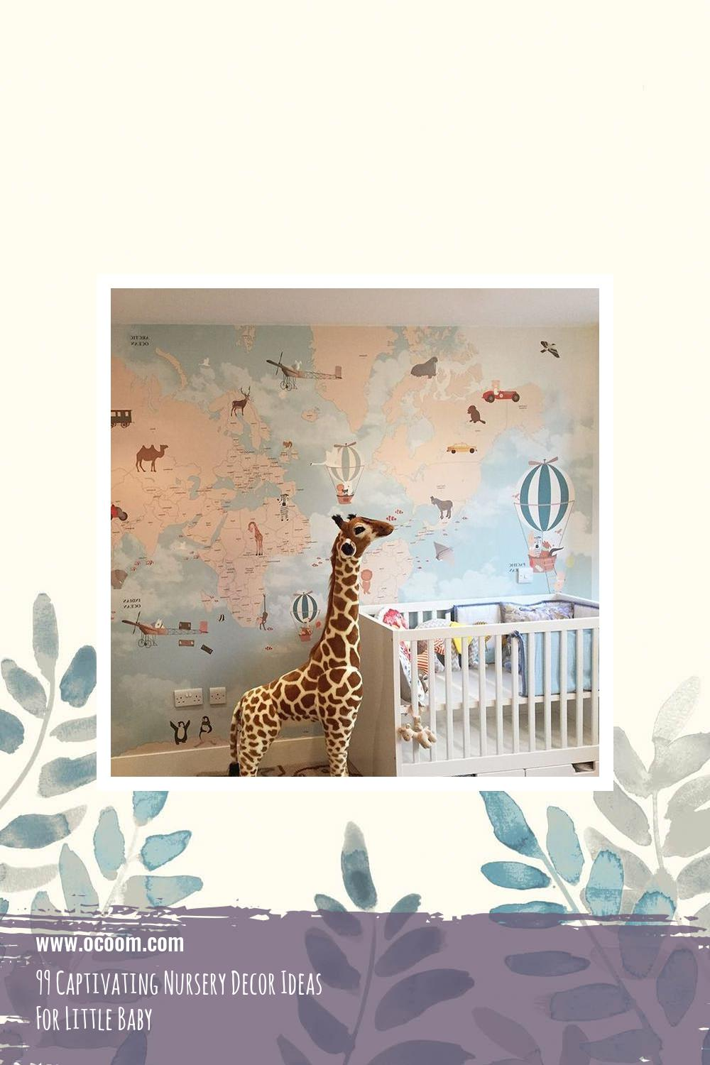 99 Captivating Nursery Decor Ideas For Little Baby 8