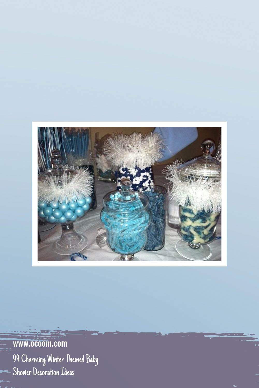 99 Charming Winter Themed Baby Shower Decoration Ideas 18