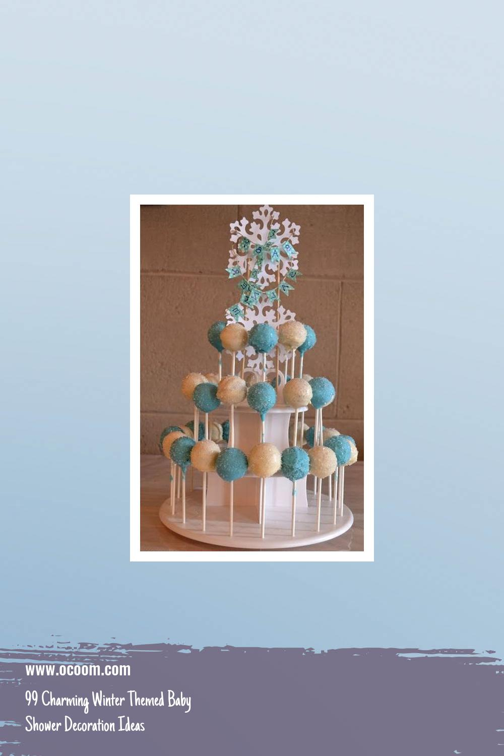 99 Charming Winter Themed Baby Shower Decoration Ideas 2