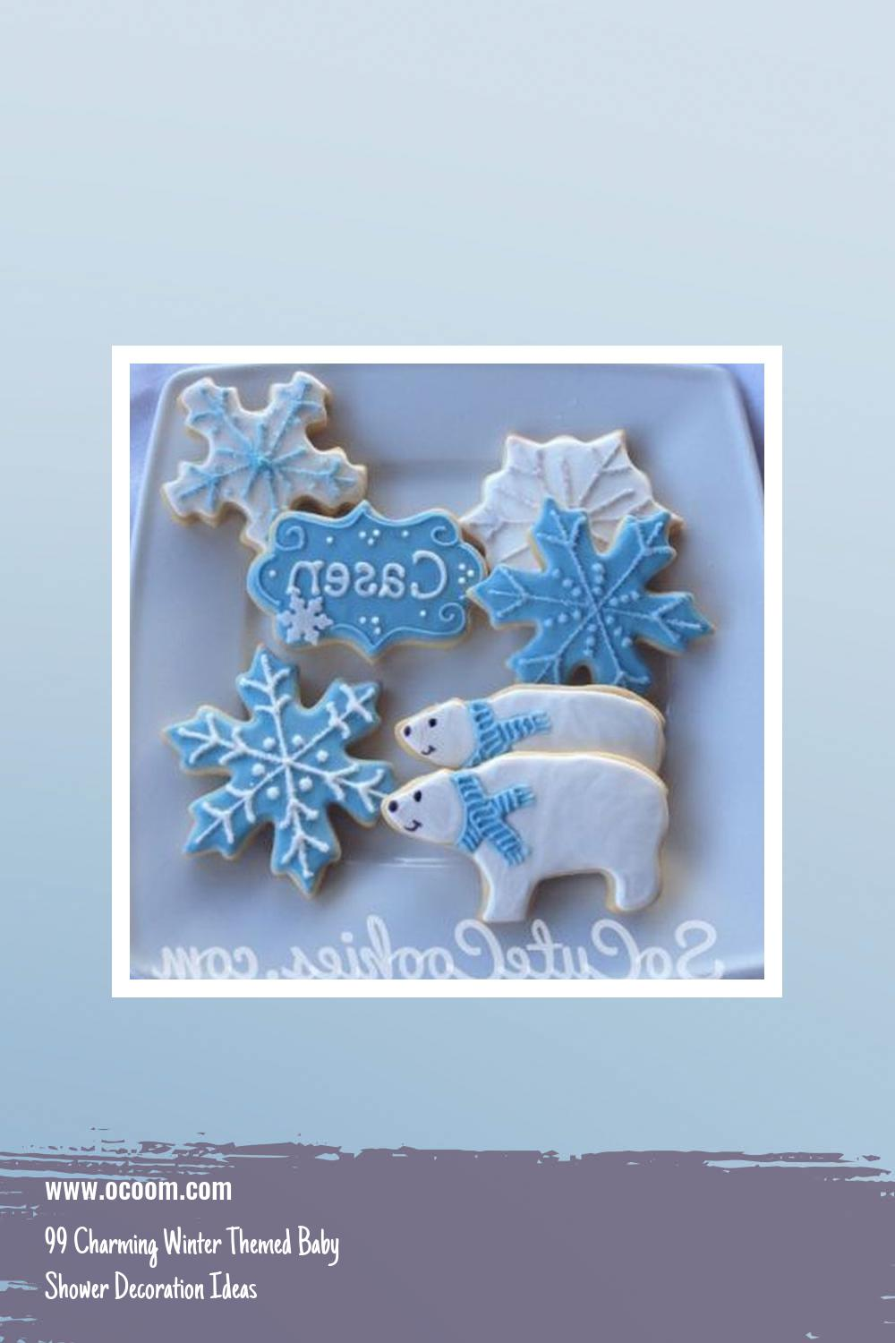 99 Charming Winter Themed Baby Shower Decoration Ideas 22