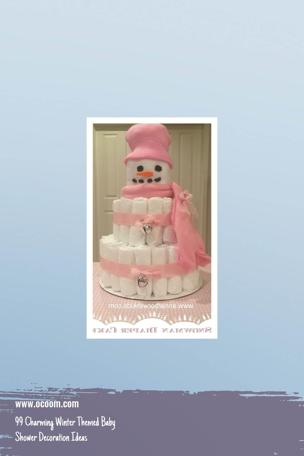 99 Charming Winter Themed Baby Shower Decoration Ideas 44