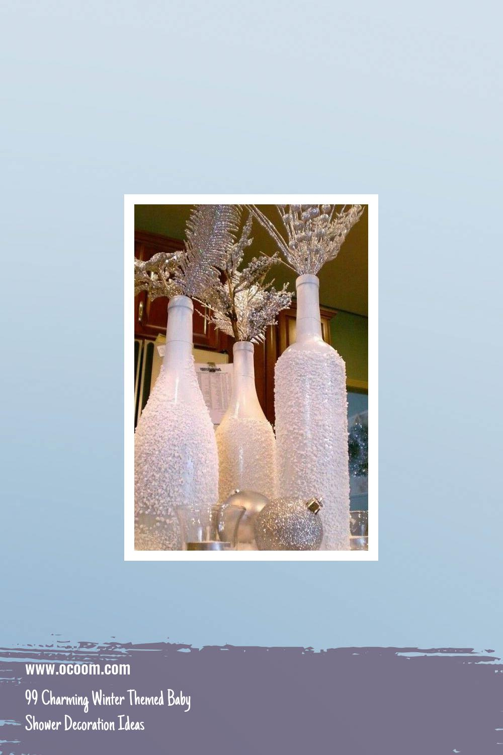 99 Charming Winter Themed Baby Shower Decoration Ideas 5