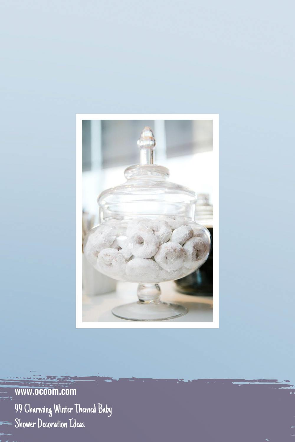 99 Charming Winter Themed Baby Shower Decoration Ideas 9