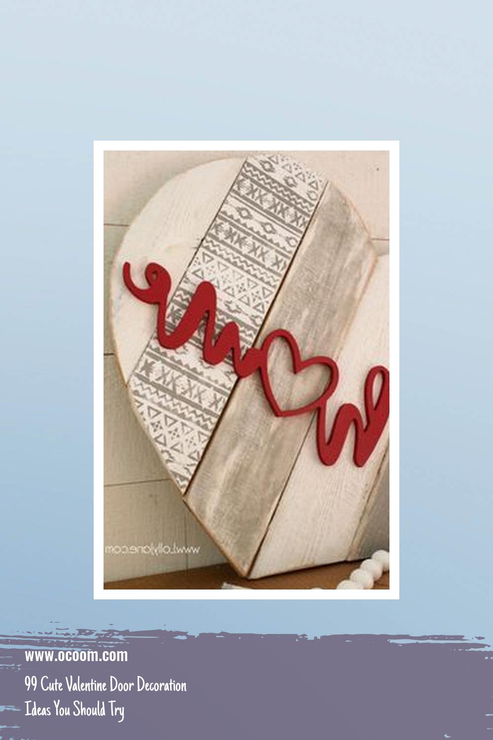 99 Cute Valentine Door Decoration Ideas You Should Try 16