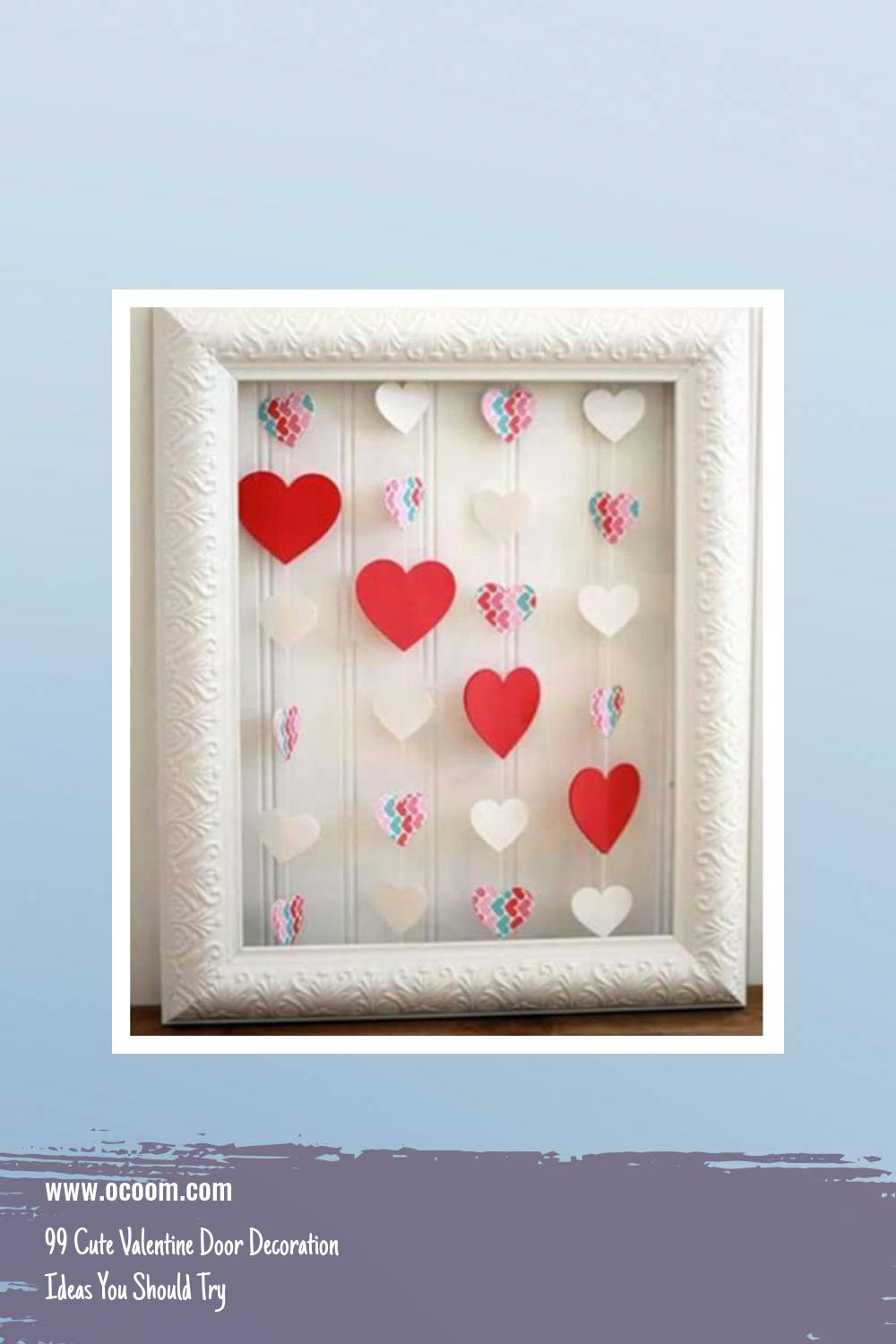 99 Cute Valentine Door Decoration Ideas You Should Try 18