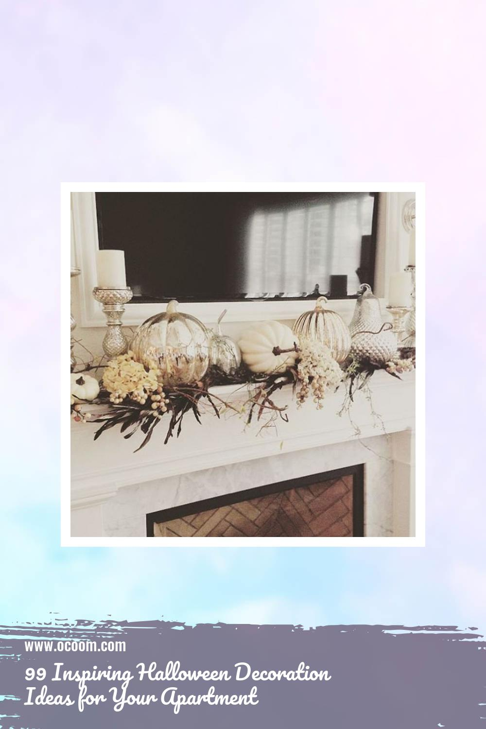 99 Inspiring Halloween Decoration Ideas for Your Apartment 13
