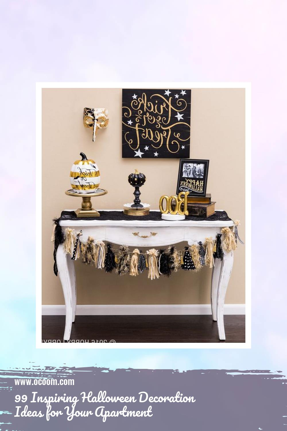 99 Inspiring Halloween Decoration Ideas for Your Apartment 16