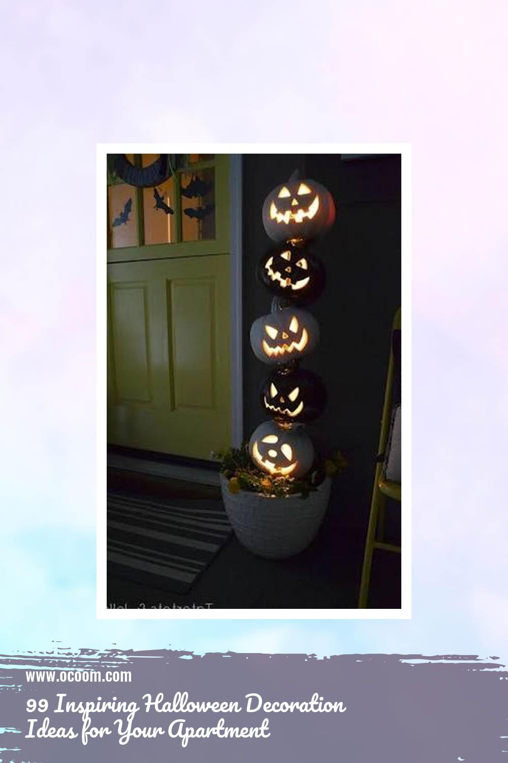 99 Inspiring Halloween Decoration Ideas for Your Apartment 18