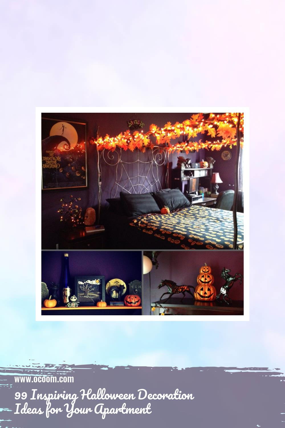 99 Inspiring Halloween Decoration Ideas for Your Apartment 54