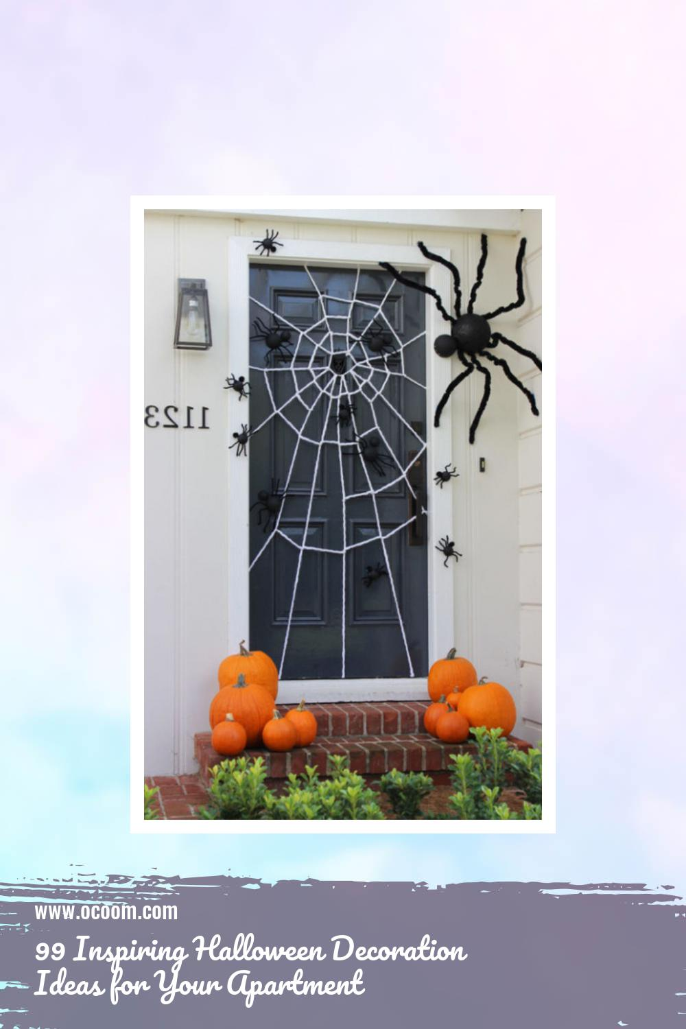 99 Inspiring Halloween Decoration Ideas for Your Apartment 59