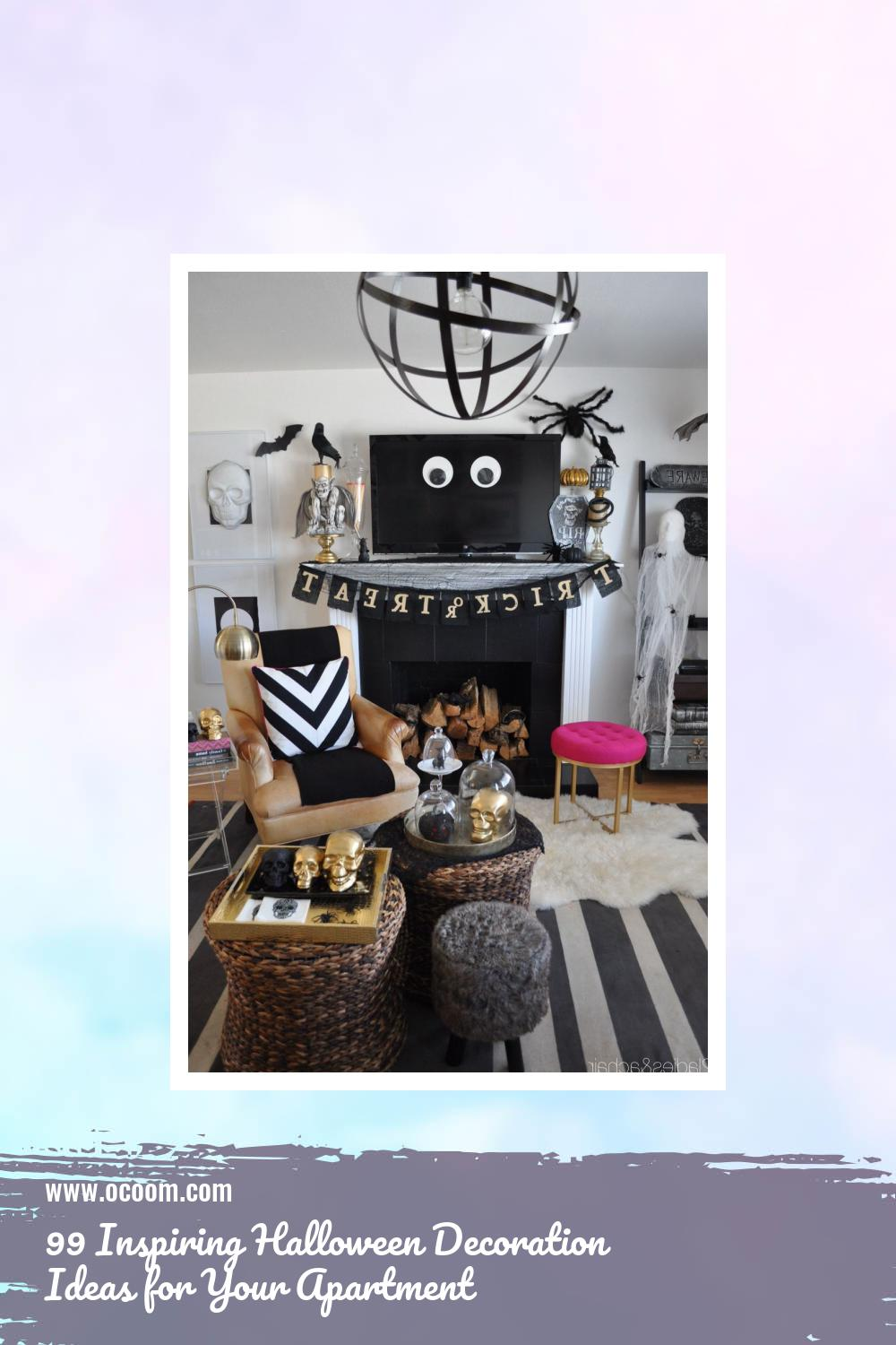 99 Inspiring Halloween Decoration Ideas for Your Apartment 66