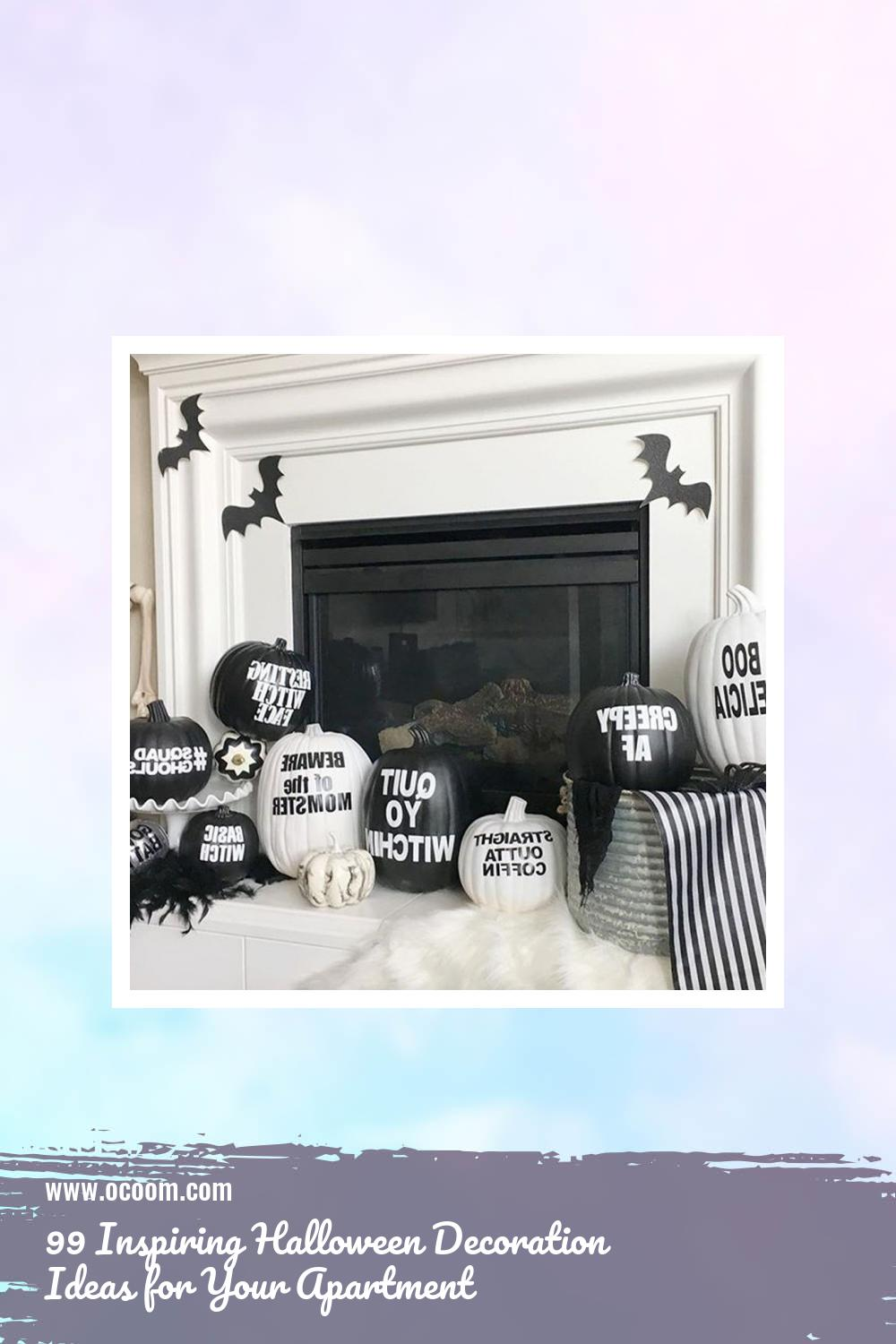 99 Inspiring Halloween Decoration Ideas for Your Apartment 70