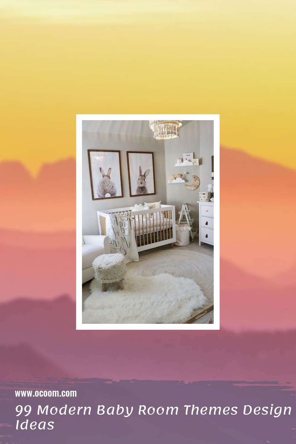 99 Modern Baby Room Themes Design Ideas 1